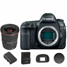 Canon EOS 5D Mark IV DSLR Camera Body with EF 17-40mm f/4L USM Lens