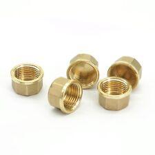 "5pcs 1/2"" BSPP Female Brass Countersunk Plug Hex Socket Pipe fittings End Cap"