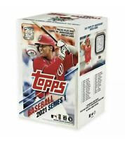 2021 Topps Series 1 Baseball Factory Sealed MLB Relic Blaster Box Sealed