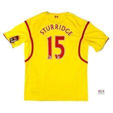 NWT Liverpool 2014/15 Away Soccer Jersey 3XL Daniel Sturridge Warrior EPL