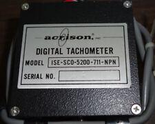 New Acrison ISE-SCO-5200-711-NPN Digital Tachometer with Mounting Bracket