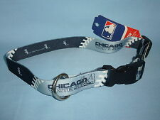 CHICAGO WHITE SOX  Adjustable DOG/PET COLLAR  size Large  by Hunter Mfg  NWT gr