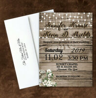 75 RSVP CARDS PERSONALIZED FOR YOU 75 LIVING TREE OF LIFE WEDDING INVITATIONS