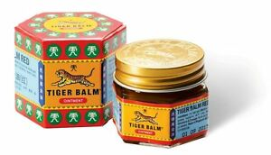 Tiger Balm Red Herbal Relief From Aches and Pain 10g Original from Singapore