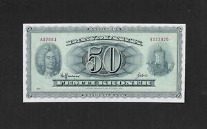 UNC 50 kroner 1970 DENMARK