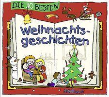 Die 30 besten Weihnachtsgeschichten DOPPEL CD (Hörbuch) -  Neu & in Folie!