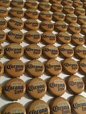 5 New Corona Light beer bottle caps, NO dents or Crimping, Perfect Condition