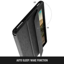 Amazon Fire 7 (2019) Tablet Case, Poetic Lightweight Trifold Stand Cover Black