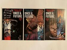 ONCE AND FUTURE #1,2 & 3 ,Boom 1st Print Hot Book Kieron Gillen NM