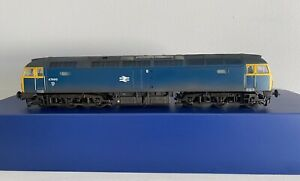 BACHMANN OO GAUGE CLASS 47 47499 BR BLUE DCC READY *renumbered*