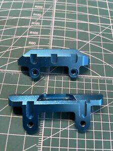 Blue Aluminium Front & Rear Suspension Mount For Tamiya DB01