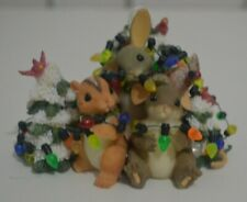 Charming Tails Friends Light Up The Season by Fitz and Floyd 87/176 Dean Griff