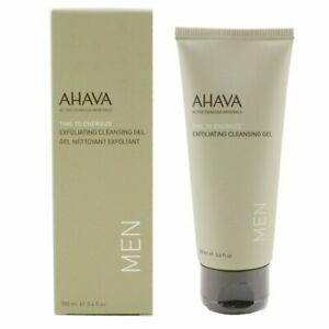 NEW Men's Skincare Ahava Time To Energize Exfoliating Cleansing Gel