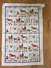 MILLY GREEN 2013 ROYAL BABY COLLECTION COMMEMORATIVE TEA TOWEL, NEW, FREE P & P