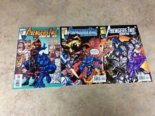 AVENGERS TWO:WONDER MAN AND THE BEAST #1,2,3 LOT OF 3 NM COMIC 2000 MARVEL