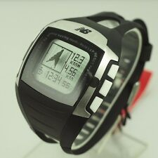NEW BALANCE SPORT RUNNING GPS DIGITAL WATCH 28-900-001 HEART RATE CHEST STRAP