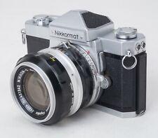 NIKKORMAT FT 35mm camera w/fast STUNNING CONDITION 50mm f/1.4 Nikkor-S lens