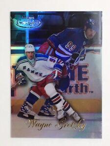 Wayne Gretzky 1998-99 Topps Gold Label #4 Class 2 Black