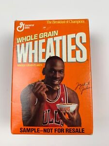 Michael Jordan Mini Wheaties Box, Sample Not For Resale, Sealed, Series 28