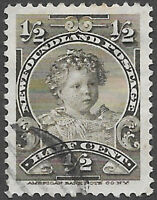 Newfoundland Scott Number 78 VF Used