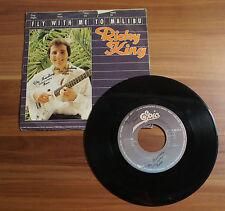 "Single 7"" Ricky King - Fly with me to Malibu 1978 TOP!"