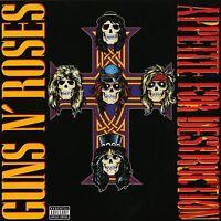 GUNS N' ROSES - APPETITE FOR DESTRUCTION VINYL LP *BRAND NEW & SEALED*