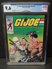 MARVEL COMICS GI JOE, A REAL AMERICAN HERO #52 1986 CGC 9.6 WP NEWSSTAND