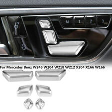 Car Seat Button Trim Cover Sticker For Benz W246 W204 W218 W212 X204 X166 W166