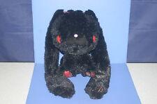 Chax-GP Gloomy Bear Black All Purpose Rabbit Tartan checked Plush Doll CGP308