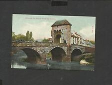 Vintage Colour Postcard The Morrow Bridge & Gateway Monmouth Wales unposted