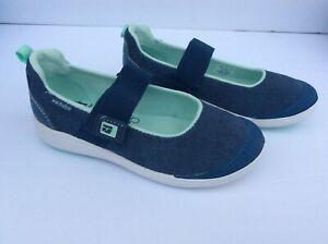 Stride Rite Girls Made2Play Lia Navy Mary Jane Shoes 10.5M - Machine Washable