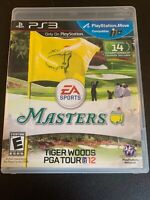 PS3G155 Tiger Woods PGA Tour 12: The Masters (Sony PlayStation 3, 2011)
