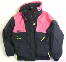 Vintage Women's Columbia Vamoose Jacket Ski Snowboard Neon Pink Green Size M