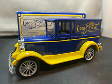 Liberty Goodyear 1928 Chevrolet Panel Van Delivery Truck 1/25 Diecast Coin Bank
