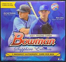 2021 Bowman Sapphire Factory Sealed Unopened Box 8 Packs Martin Jordan