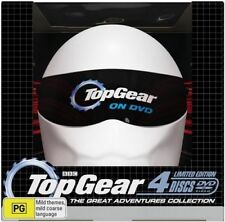 Top Gear - The Great Adventures Collection (DVD, 2009, 4-Disc Set)