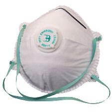10 X Valved Dust Masks P1 Safety DIY Face Mask