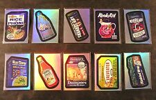 2006 Topps Wacky Packages ANS4 Series 4 RAINBOW FOIL SET of 10 nm+
