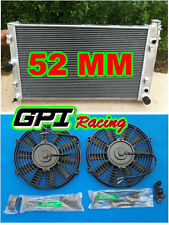 aluminum radiator for HOLDEN Commodore VZ LS1 LS2 SS V8 AT/MT 04 05 06 +2 × fans