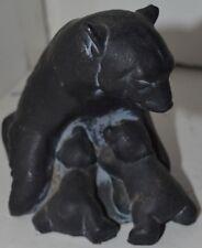 Vintage Alaska Mother Bear With Baby Cubs Figure