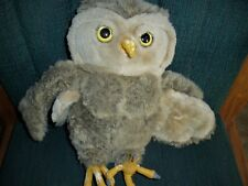 "New Listing2001 Plush Warner Bros 16"" Harry Potter Brown Barn Owl Free Shipping!"