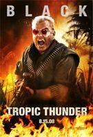 Tropic Thunder (Zweiseitig Advance Stil B) Original Filmposter