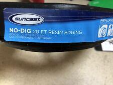 SUNCAST NO-DIG 20 FT. RESIN EDGING