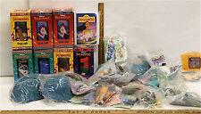 Burger King Glasses Pocahontas Vintage Disney McDonald's Premiums 39 Pc Lot NIP