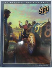 2008 Indianapolis 500 92ND Program with Starting Line-Up Insert Scott Dixon