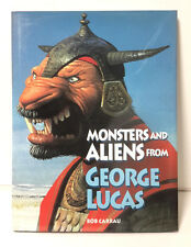 1996 Monsters and Aliens Hardcover Book from George Lucas- Full Page Color Art