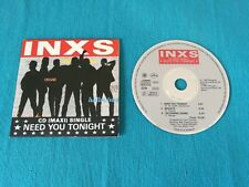 Inxs - Need You Tonight 3 Tracks Cardsleeve West Germany Press Cd Perfetto