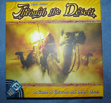 Through the Desert Board Game Fantasy Flight Silver Line Games 100% Complete