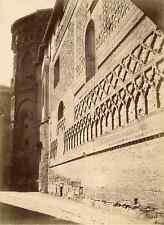 Espagne, Zaragoza Vintage albumen print Tirage albuminé  17x22  Circa 1875