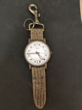 Fossil Key Fob Unusual Watch Extra Large Face Zodiac Signs Wind Up Watch